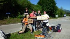 Michael O'Regan Hitchhiking